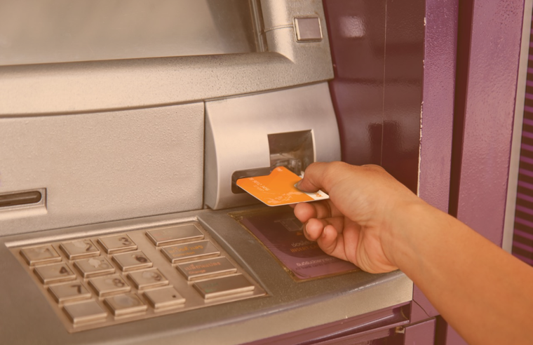 withdraw from ATMs using PayOut card